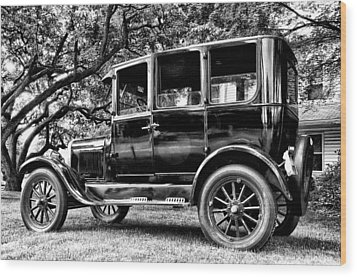 1926 Ford Model T Wood Print by Bill Cannon