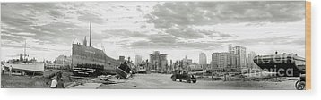 1926 Miami Hurricane  Wood Print by Jon Neidert
