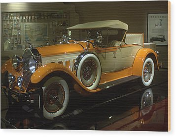 1929 Packard Wood Print
