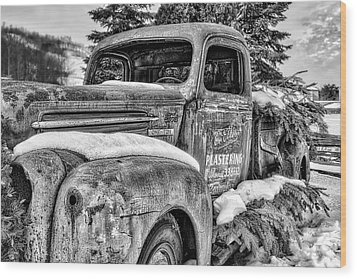 1930's Ford One Ton Wood Print by Irwin Seidman