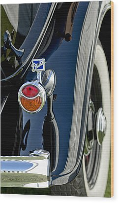 1932 Buick Series 60 Phaeton Taillight Wood Print by Jill Reger