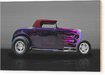1932 Ford Convertible Wood Print