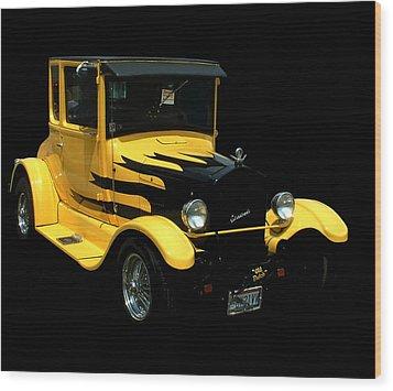 1933 Model T Ford Wood Print by Kathleen Stephens