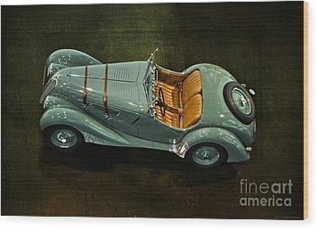 1936 Bmw 328 Roadster Wood Print