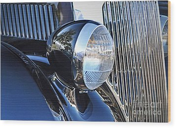 1936 Ford 2dr Sedan Wood Print by Gwyn Newcombe