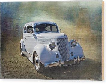 1936 Ford Wood Print by Keith Hawley
