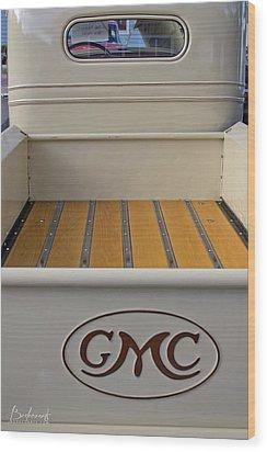 1936 Gmc Pickup Truck 4 Wood Print by Robin Lewis