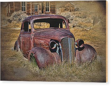 1937 Chevrolet Coupe Wood Print