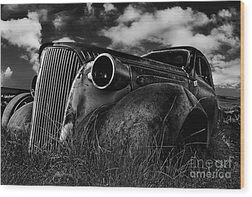 1937 Chevy Coupe Wood Print