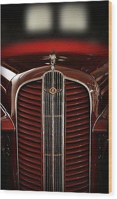 1937 Dodge Half-ton Panel Delivery Truck Wood Print by Gordon Dean II