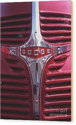 1938 Dodge Pickup Front End Wood Print