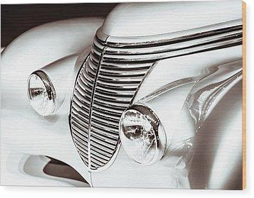 1938 Hispano-suiza H6b Xenia Front Wood Print