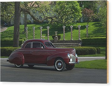1940 Mercury Coupe Wood Print by Tim McCullough