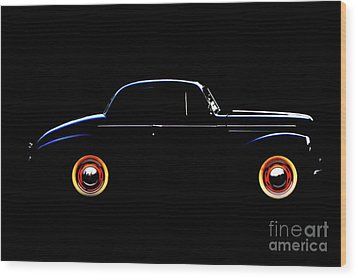 1940 Studebaker Business Coupe Wood Print