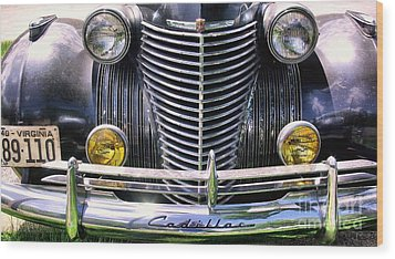 1940s Caddie Full Frontal Oh La La Wood Print by John S