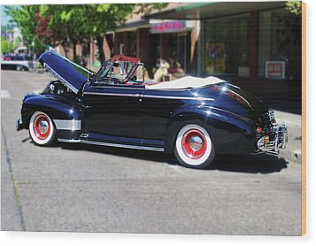 1941  Chevrolet Convertable Wood Print