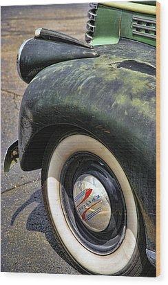 1946 Chevy Pick Up Wood Print by Gordon Dean II