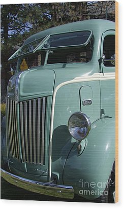 1947 Ford Cab Over Truck Wood Print by Mary Deal