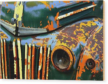 1947 Ford Wood Print by Jeff Gibford
