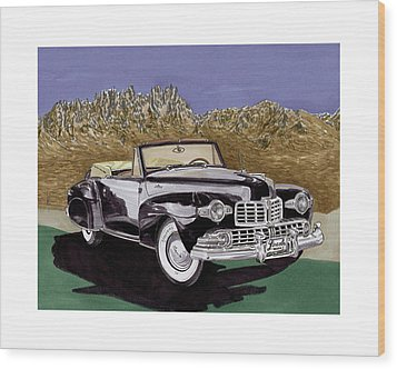 1947 Lincoln Continental Mk I Wood Print by Jack Pumphrey