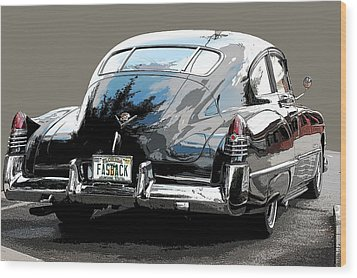 1948 Fastback Cadillac Wood Print by Robert Meanor