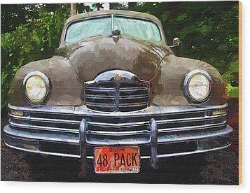 1948 Packard Super 8 Touring Sedan Wood Print by Thom Zehrfeld
