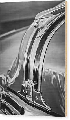 1948 Pontiac Chief Hood Ornament 4 Wood Print by Jill Reger