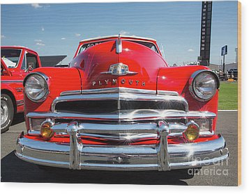1950 Plymouth Automobile Wood Print by Kevin McCarthy