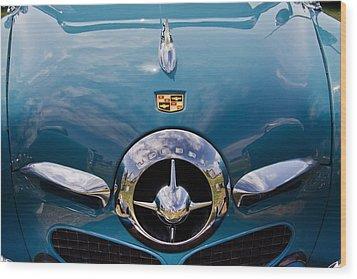 1950 Studebaker Wood Print by Roger Mullenhour