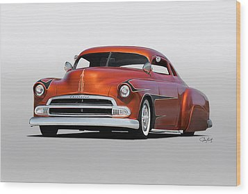 1951 Chevrolet Custom Coupe Wood Print by Dave Koontz