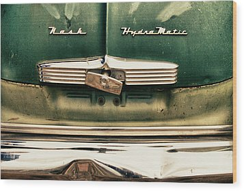 1951 Nash Ambassador Hydramatic Wood Print by James BO  Insogna