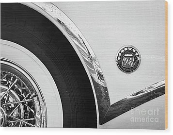 Wood Print featuring the photograph 1953 Buick Abstract  by Dennis Hedberg