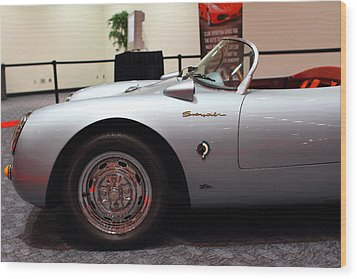 1955 Porsche 550 Rs Spyder . 7d 9411 Wood Print by Wingsdomain Art and Photography