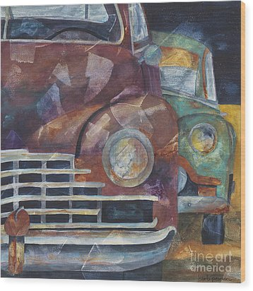 1957 Classics Wood Print by Barb Pearson