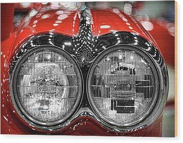 1958 Chevrolet Corvette  Wood Print by Gordon Dean II