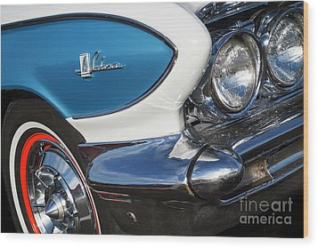 Wood Print featuring the photograph 1961 Buick Le Sabre by Dennis Hedberg
