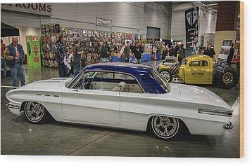 Wood Print featuring the photograph 1962 Buick Skylark by Randy Scherkenbach