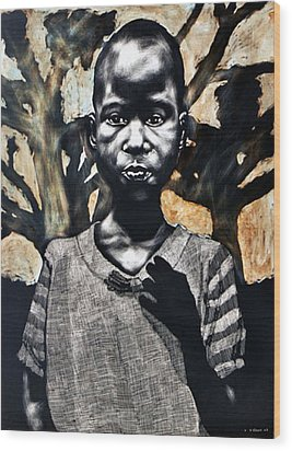 1962 Wood Print by Chester Elmore