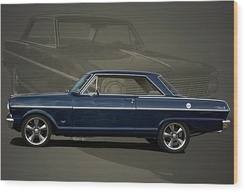 1963 Chevy II Nova Wood Print by Tim McCullough