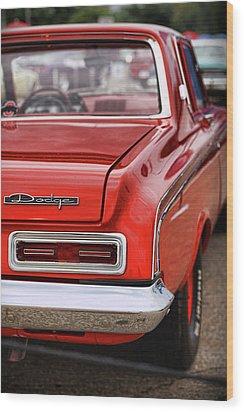 1963 Dodge 426 Ramcharger Max Wedge Wood Print by Gordon Dean II