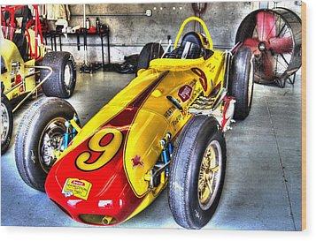 1963 Eddie Sachs Indy Car Wood Print