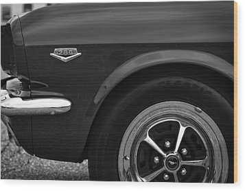 1964.5 Ford Mustang - 289 High Performance Wood Print by Gordon Dean II