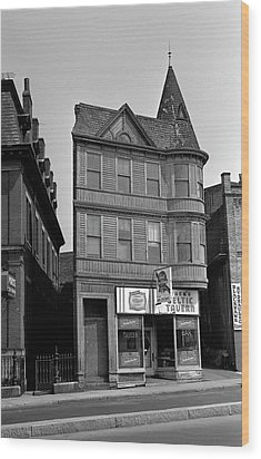 Wood Print featuring the photograph 1965 Jack's Celtic Tavern Boston by Historic Image