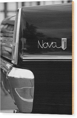 1966 Chevy Nova II Wood Print