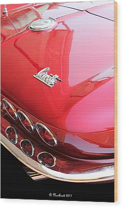 1966 Corvette Stingray Wood Print
