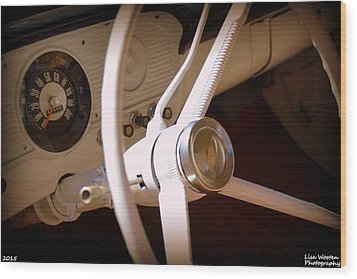 1966 Ford F100 Interior Wood Print