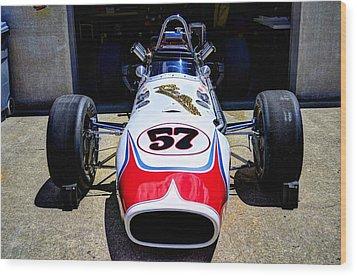 1966 Gearhardt Rear Engine V8 Wood Print