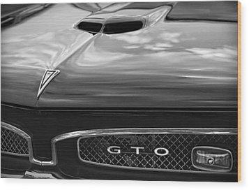 1967 Pontiac Gto Wood Print by Gordon Dean II