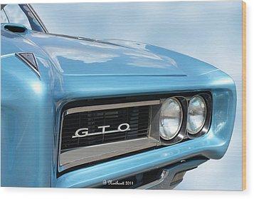 1968 Pontiac Gto Wood Print