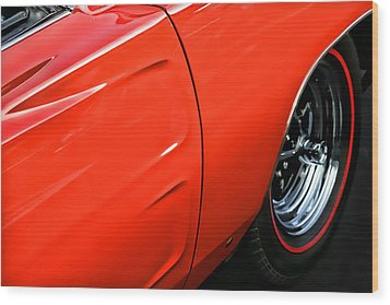 1969 Dodge Charger Rt Wood Print by Gordon Dean II
